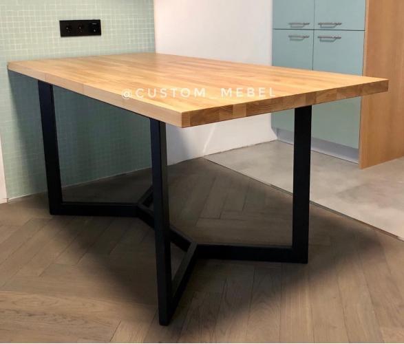 Раздвижной стол в стиле лофт